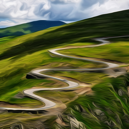 Epic roads of Romania