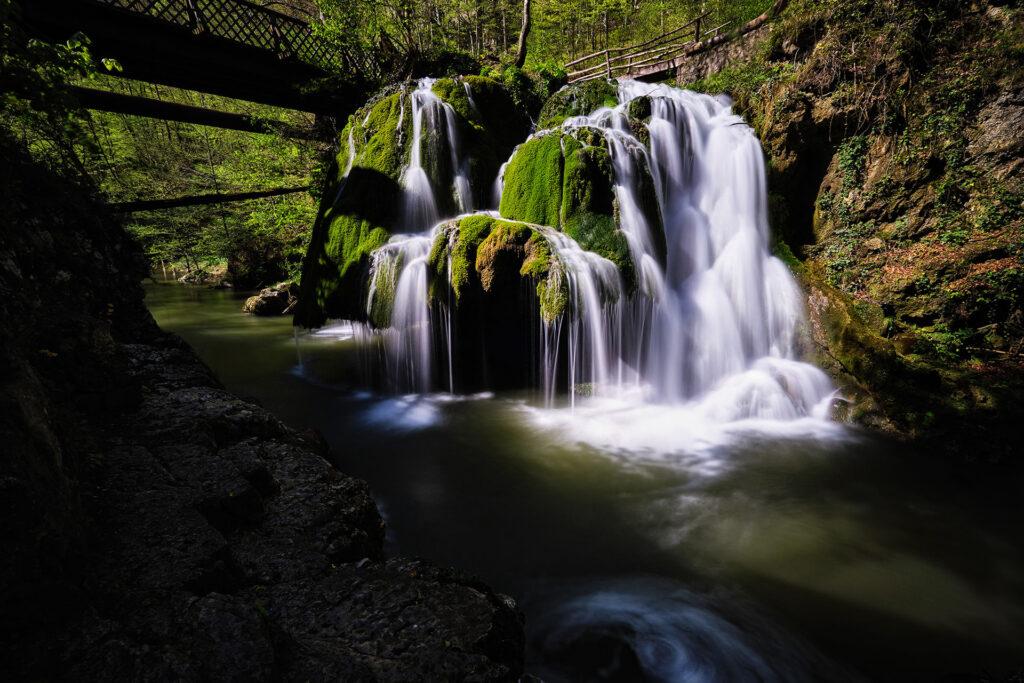 Bigar Waterfall in Romania 02