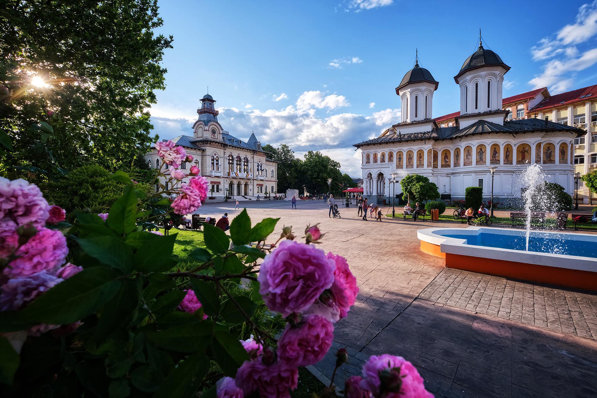 City of Targu Jiu in Romania 01