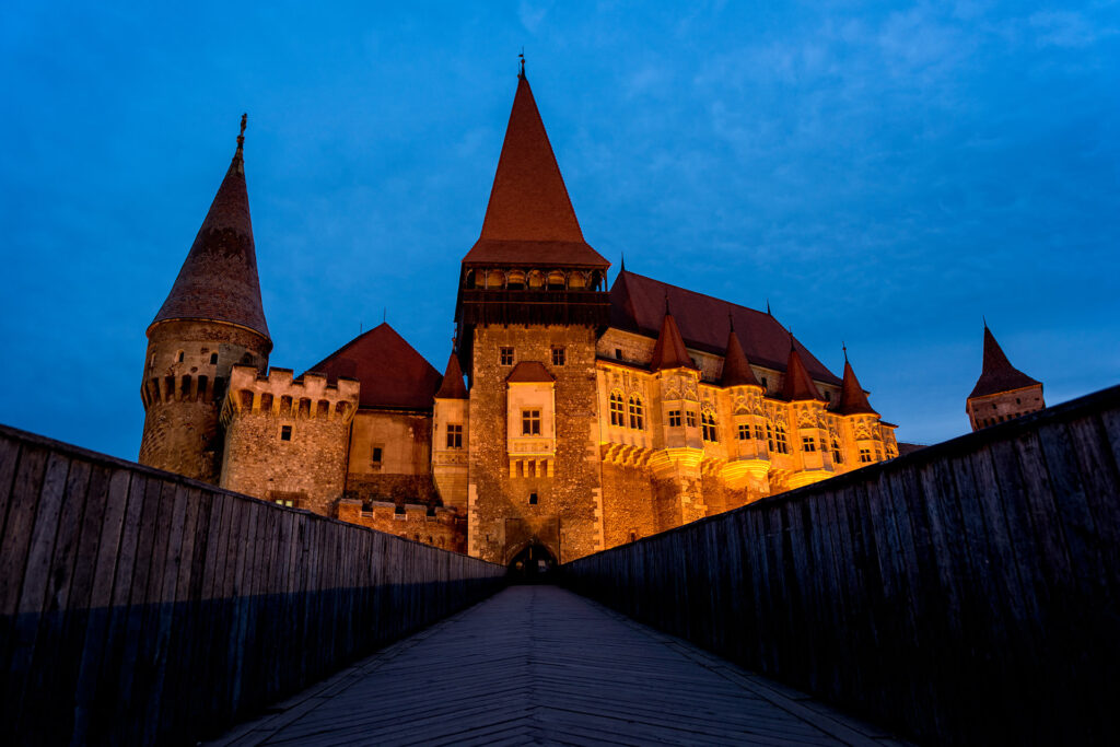 Corvin Castle in Hunedoara Romania 02