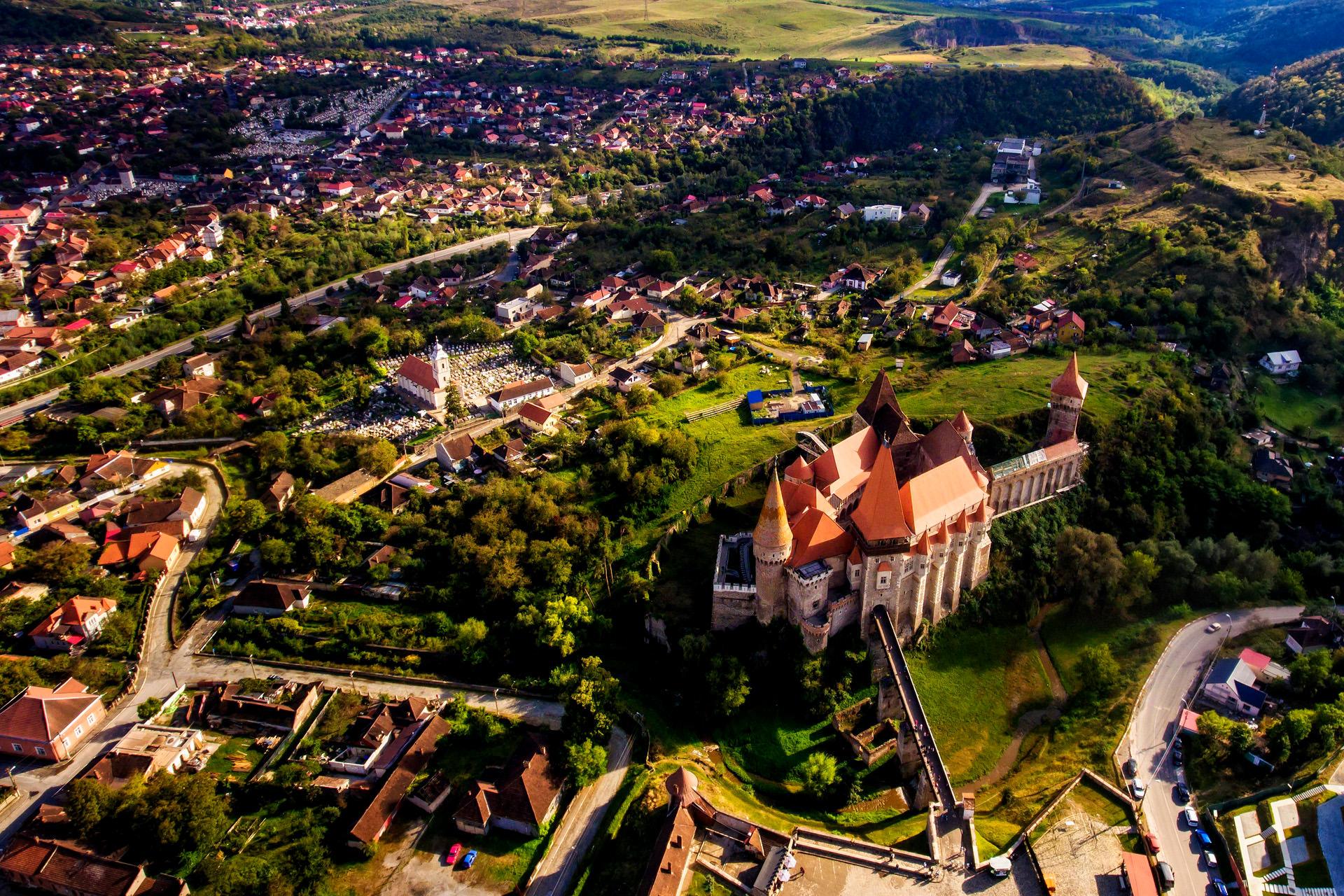 Corvins Castle in Romania 5