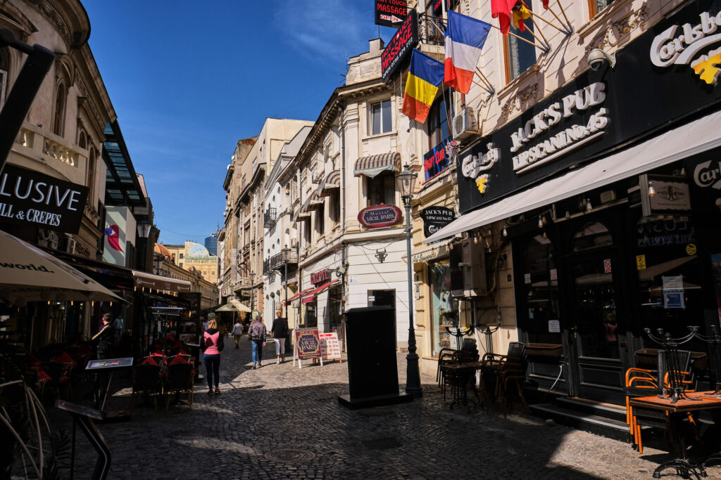 Bucharest Old Town 01