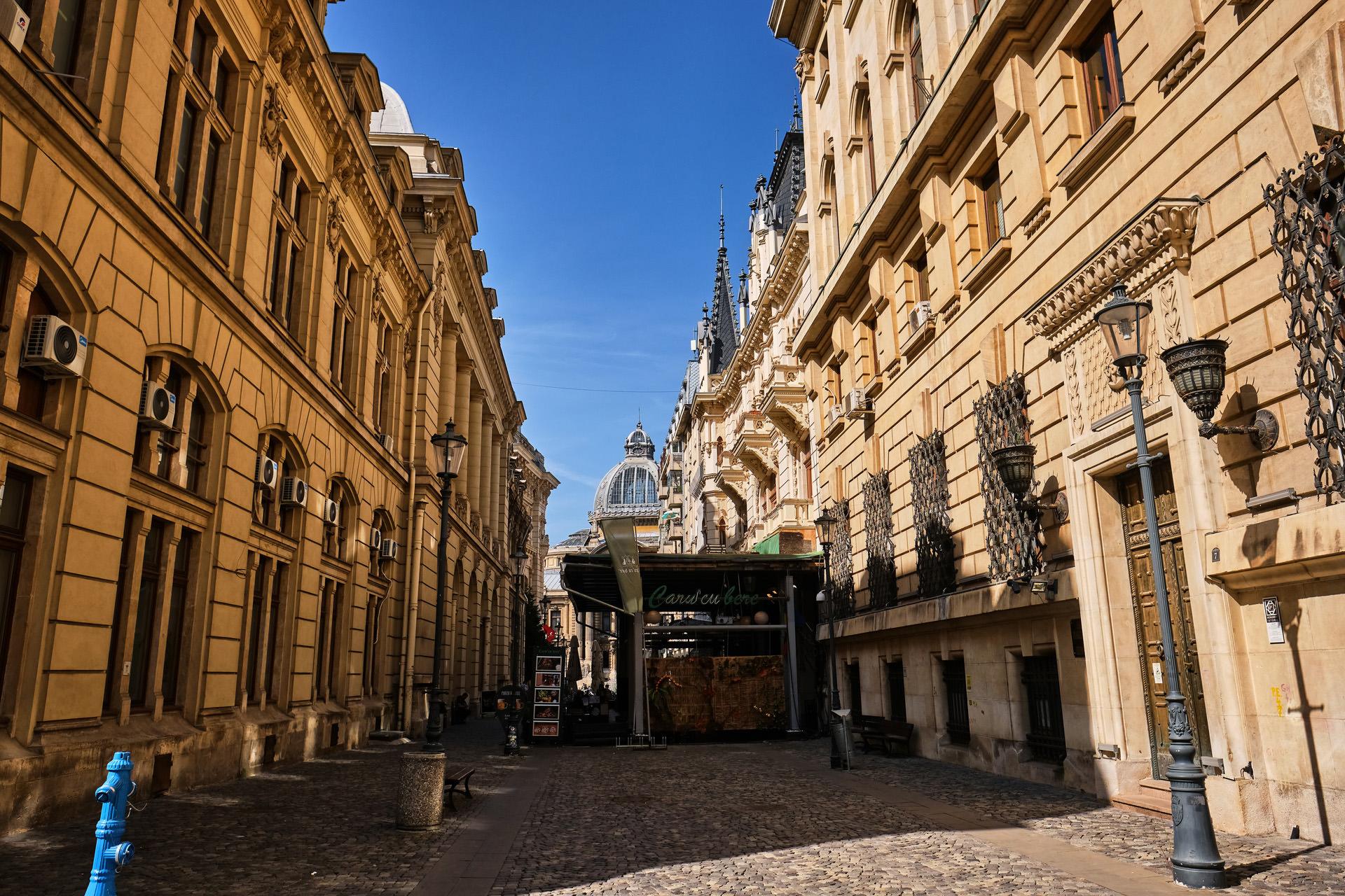Bucharest Old Town 05