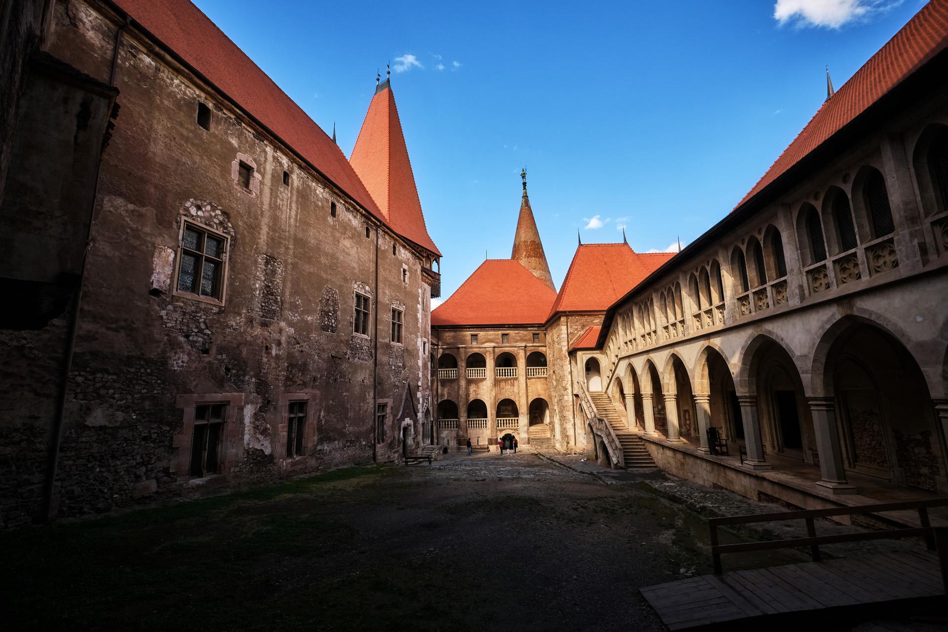Hunyade Castle of Hunedoara in Romania