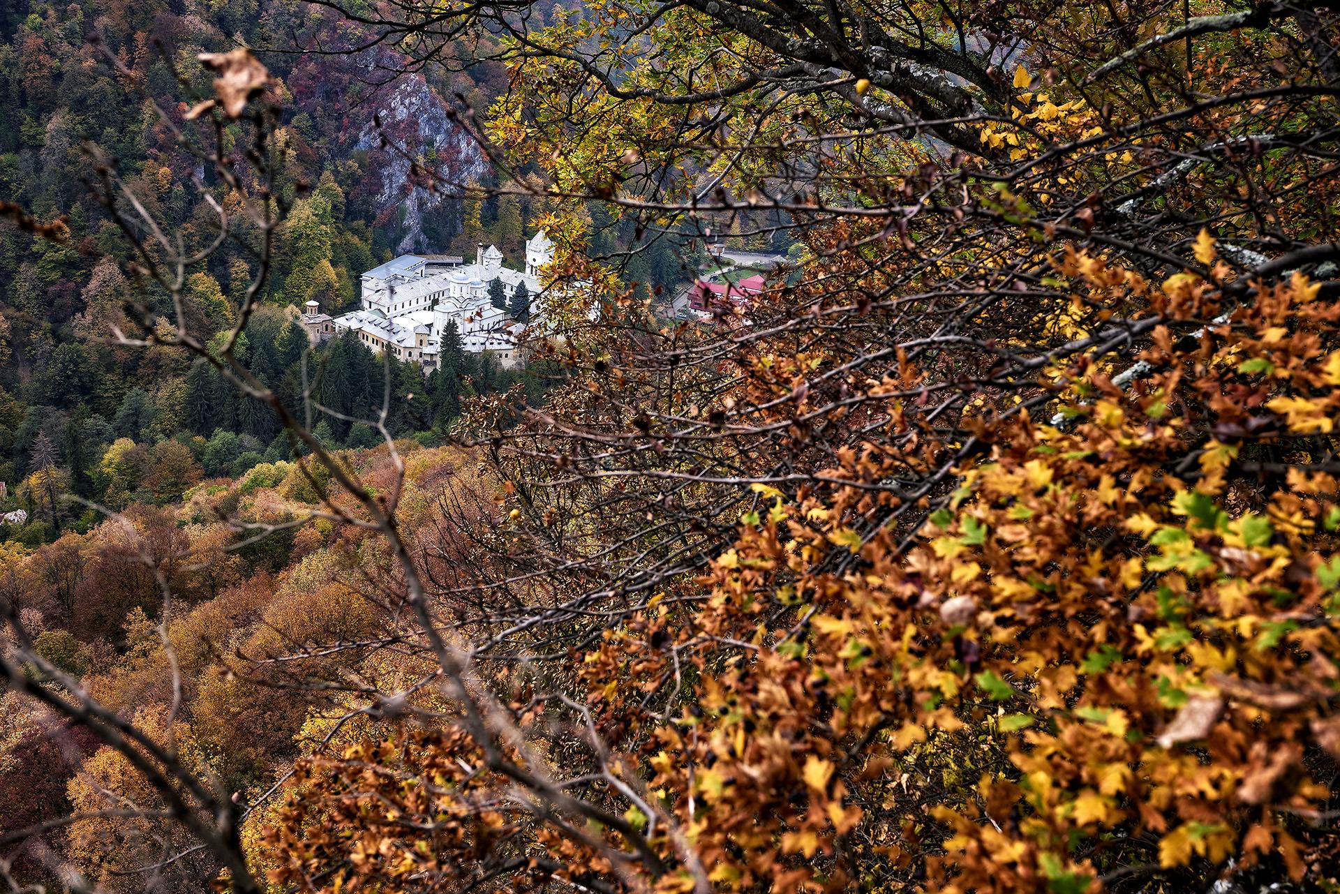Tismana Monastery in Romania 02