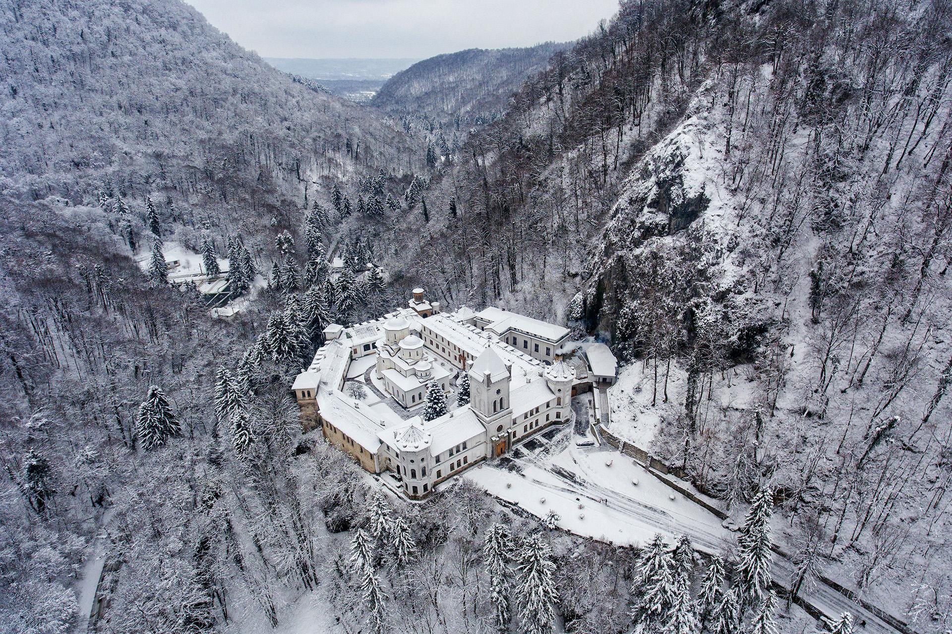 Tismana Monastery in Romania 04