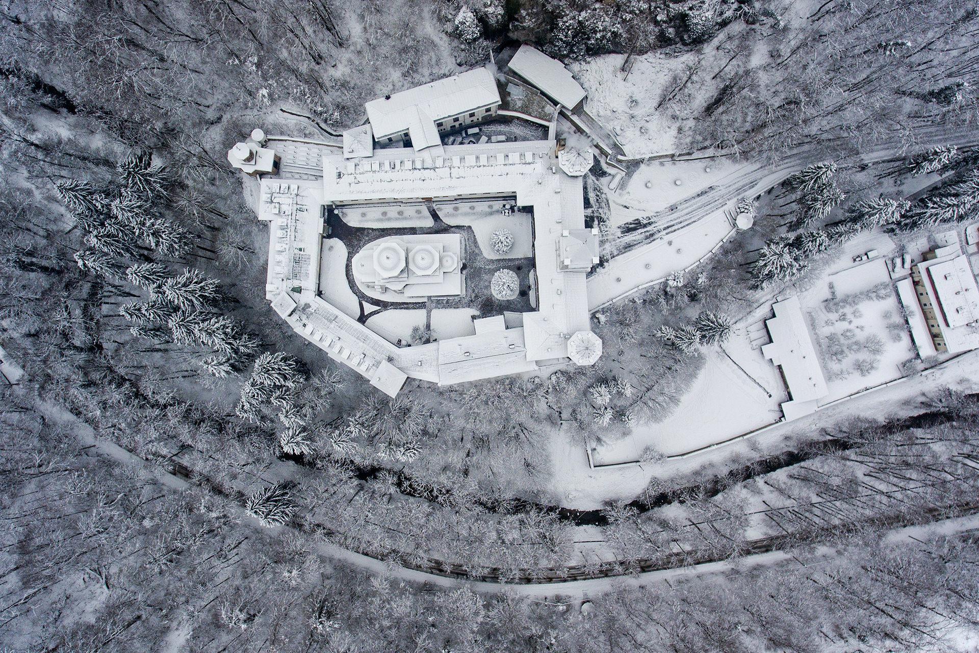 Tismana Monastery in Romania 05
