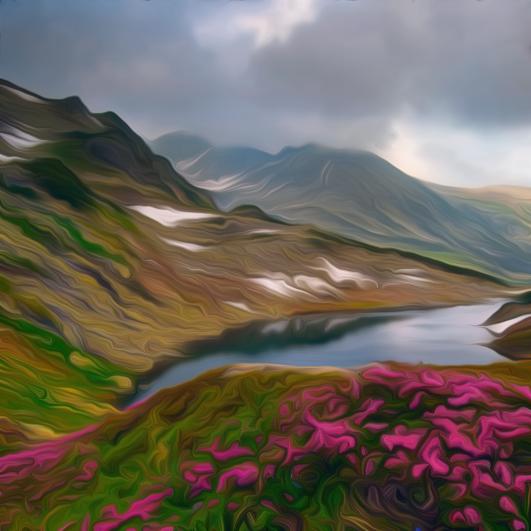 Wild Mountains of Romania