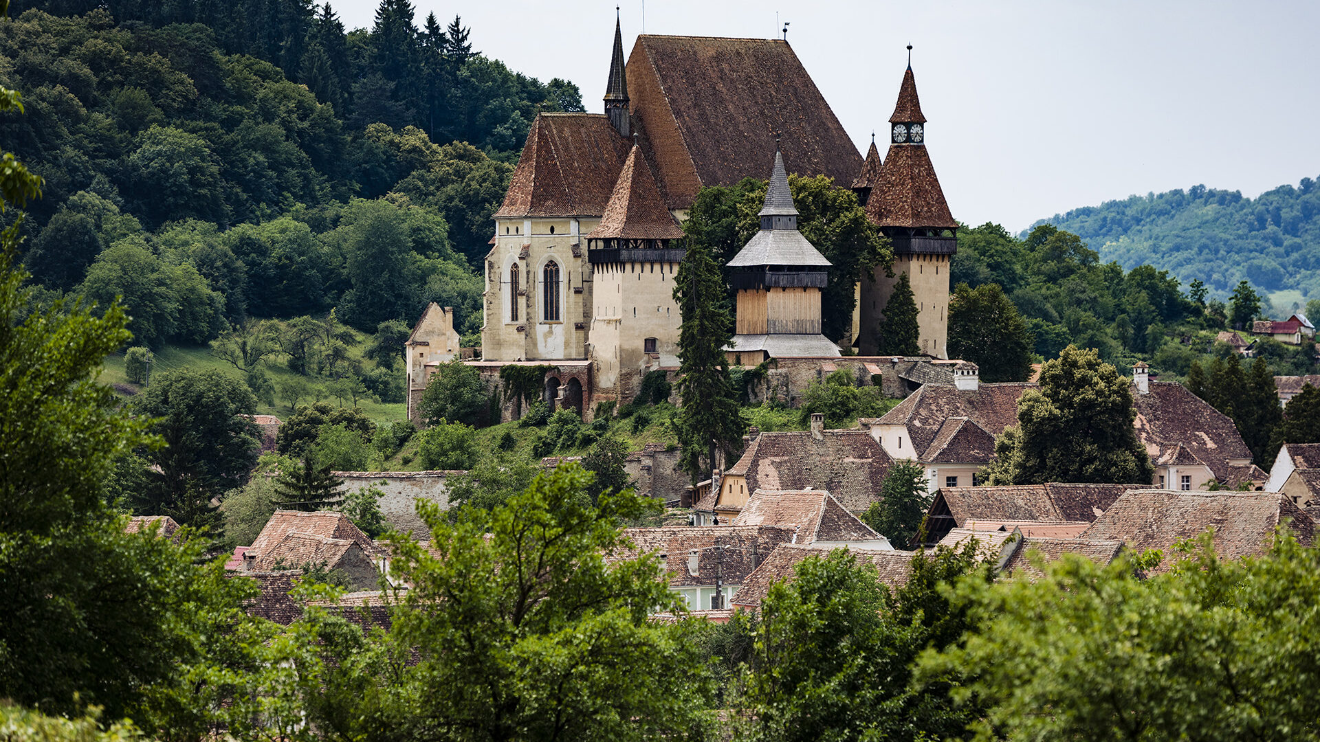 Biertan Fortified Church 1