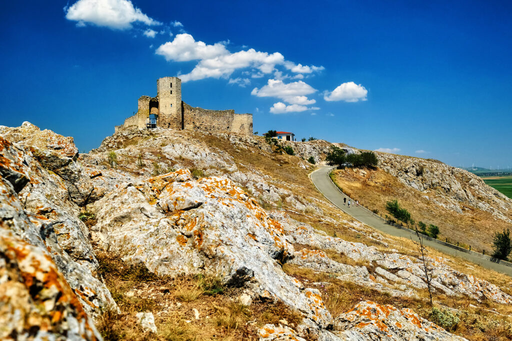 Enisala Fortress in Romania 01