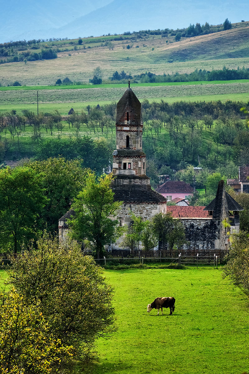 Densus Church Romania Hateg Country
