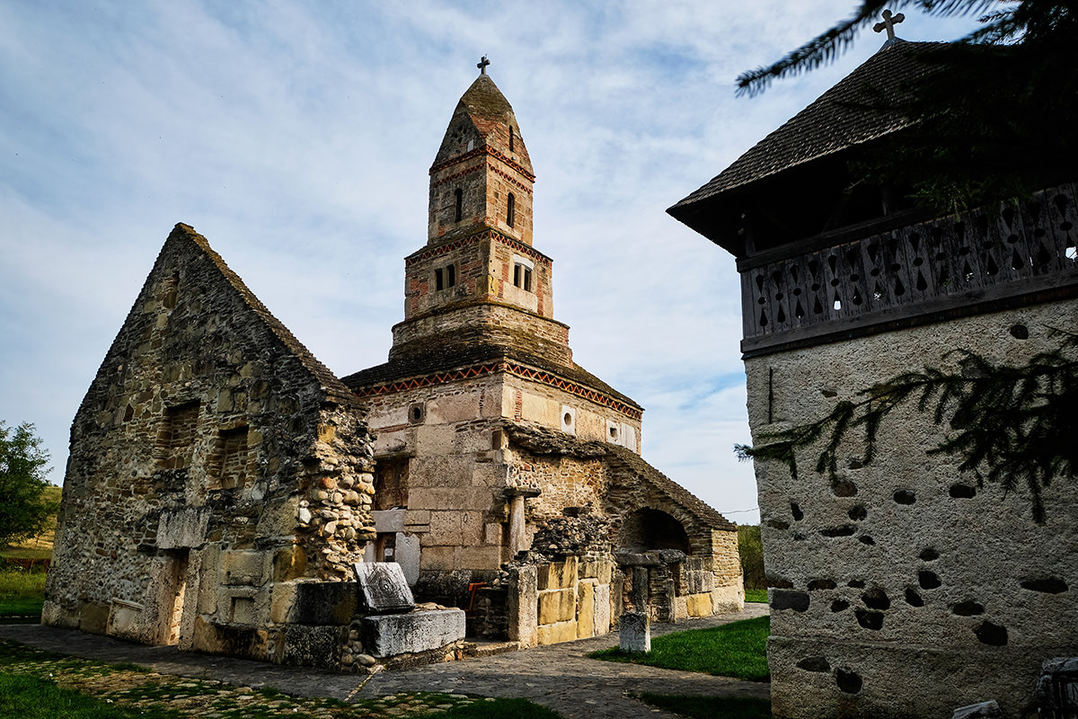 Densus Church Romania Land of Hateg