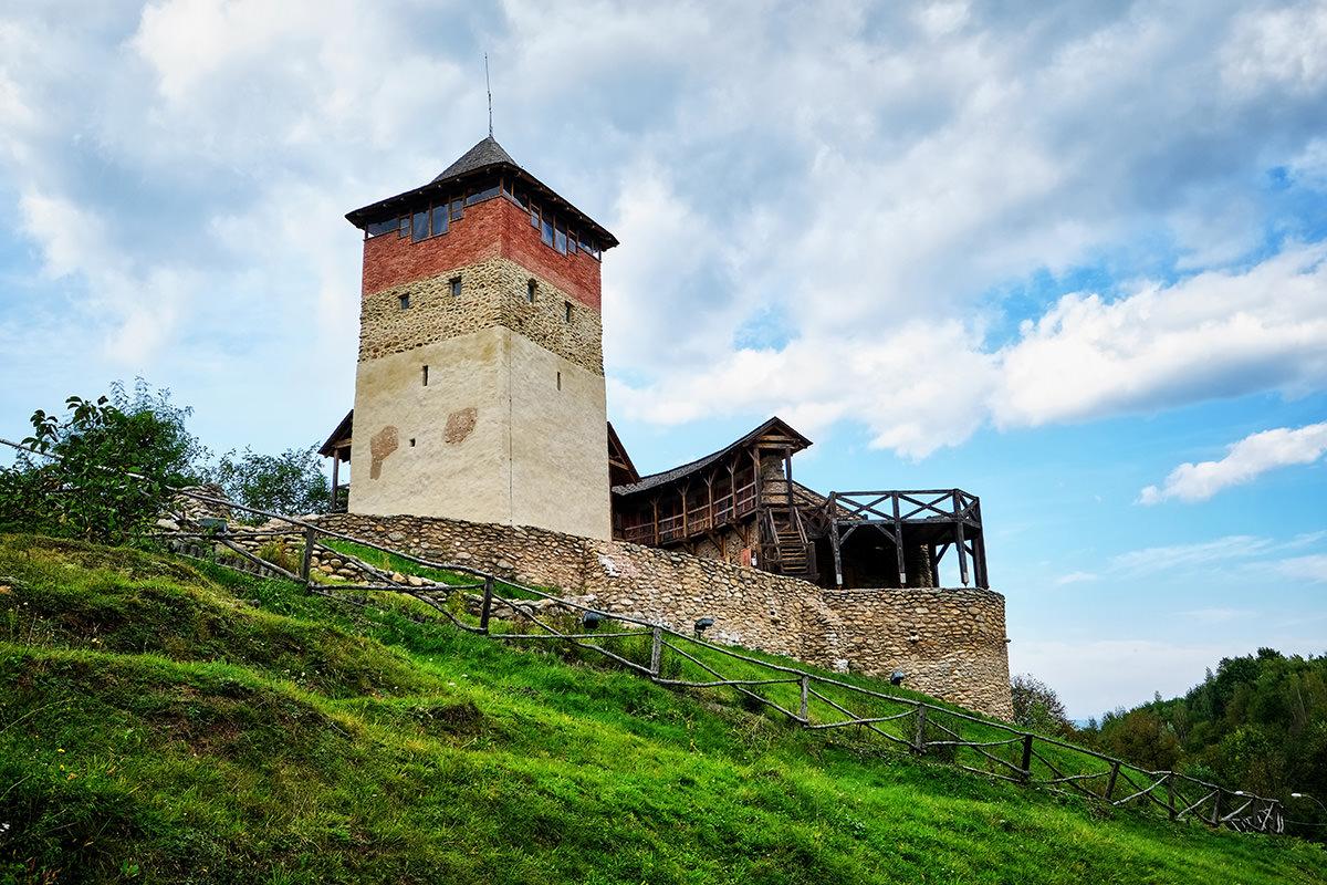 Malaiesti Fortress Land of Hateg Romania