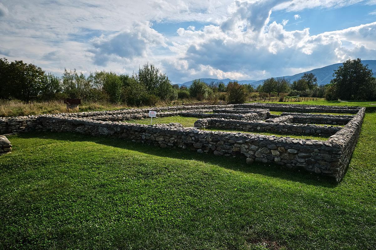 Sarmizegetusa Ulpia Traiana Fortress Romania