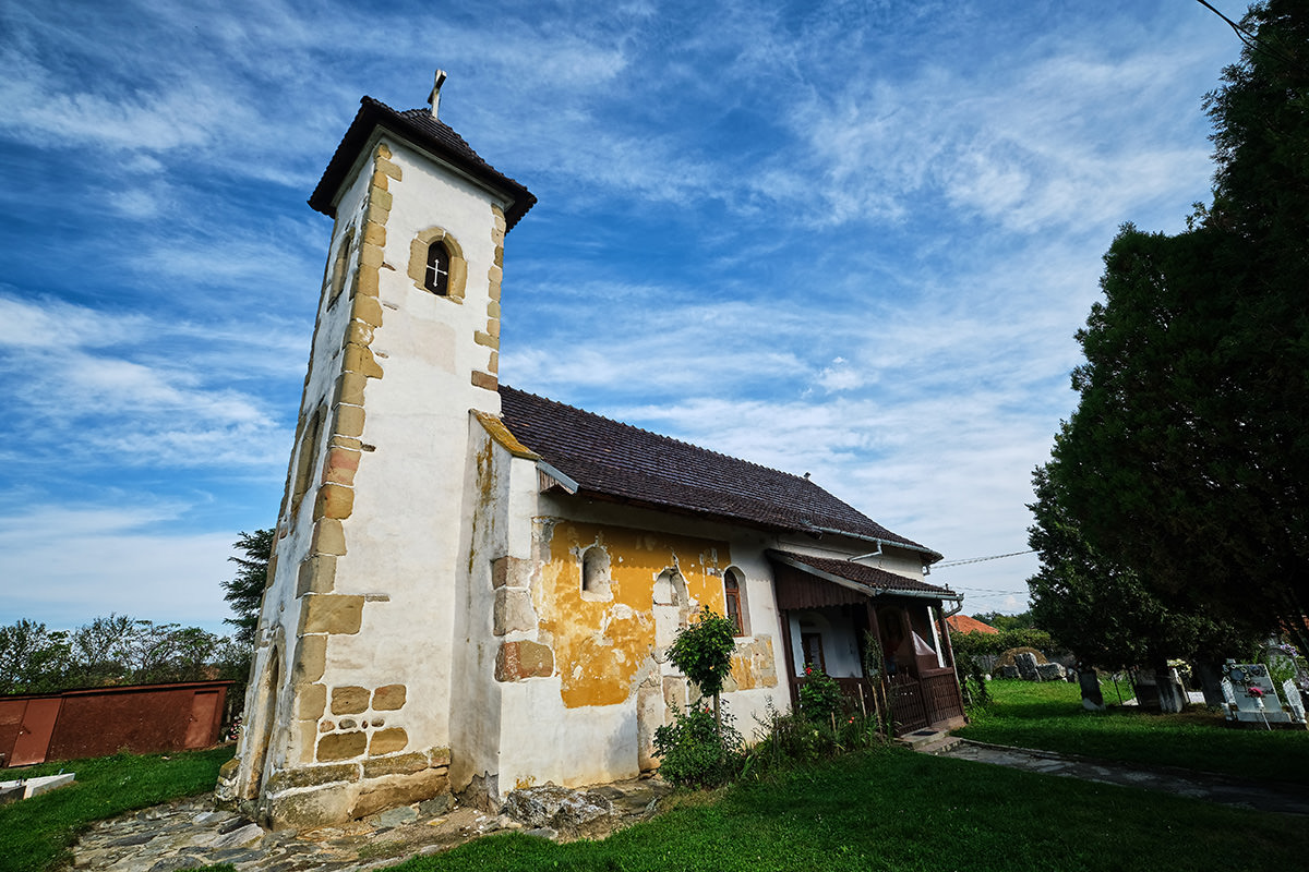 Stone Church Hateg Land Romania - Ostrovul Mare