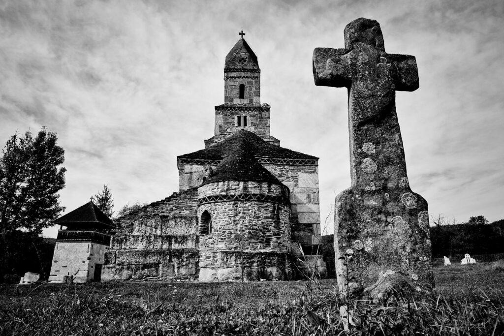Stone Church of Densus Land of Hateg Romania