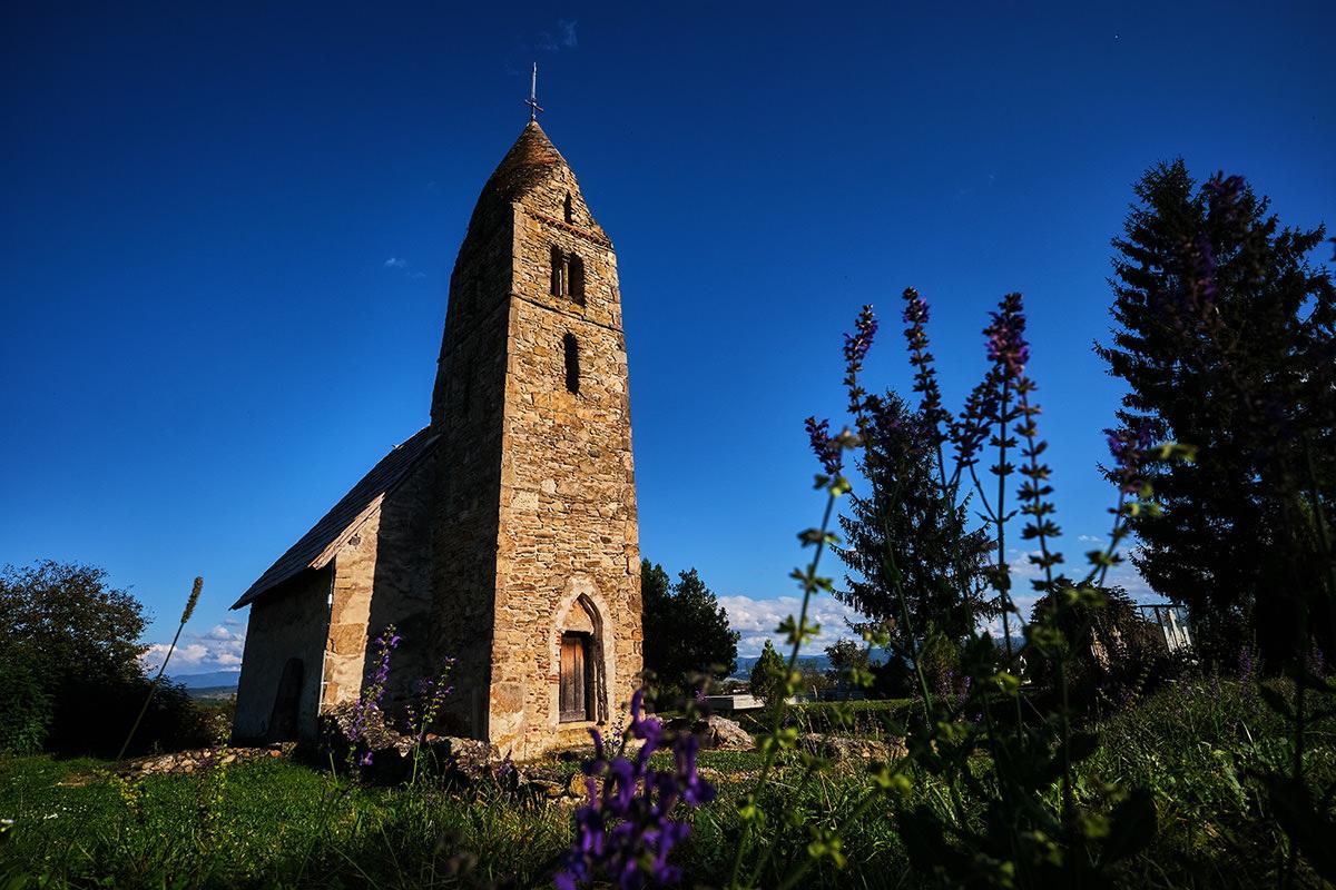 Stone Church of Strei Romania Hateg Country
