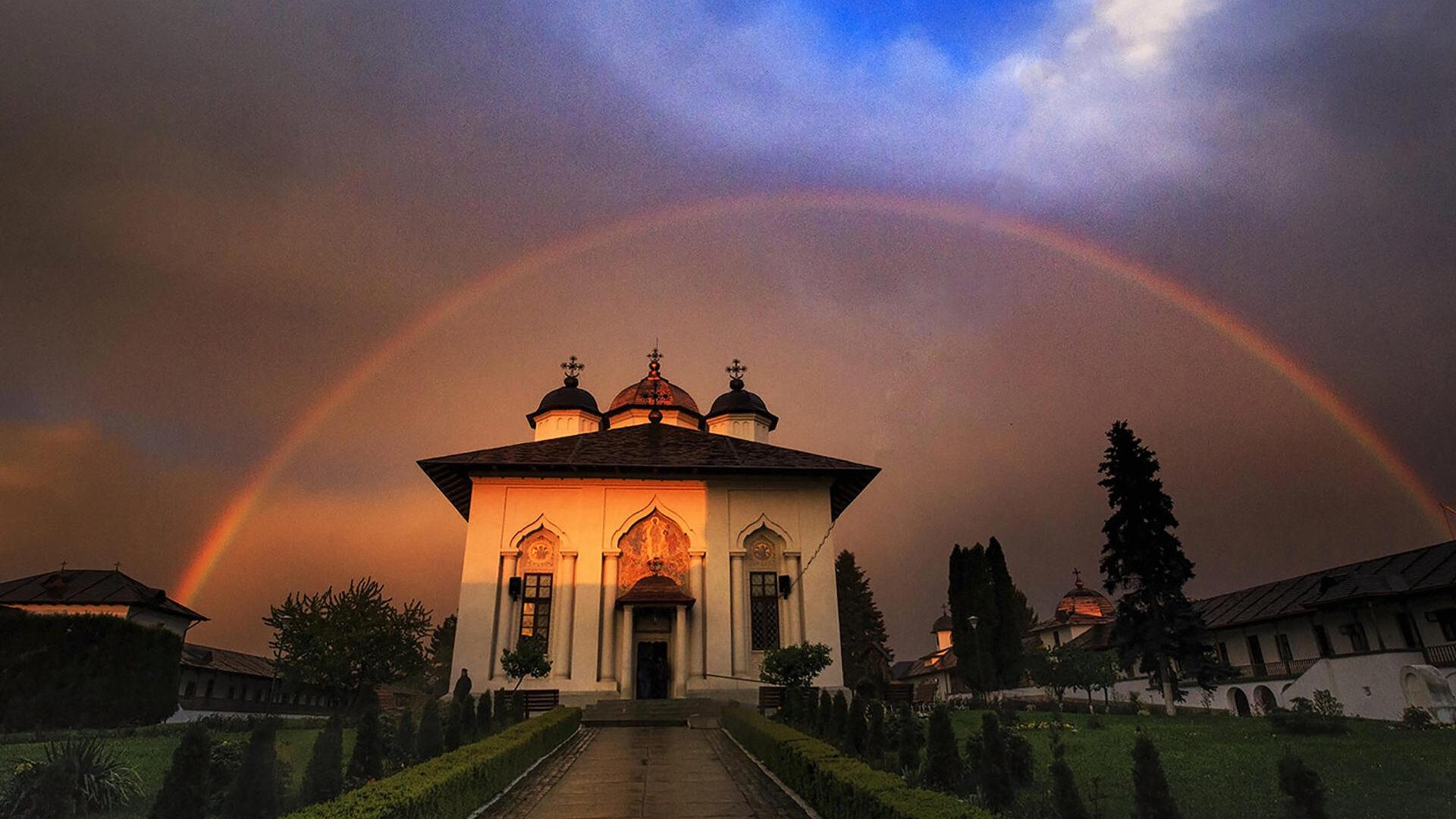 Cernica Monastery outside Bucharest