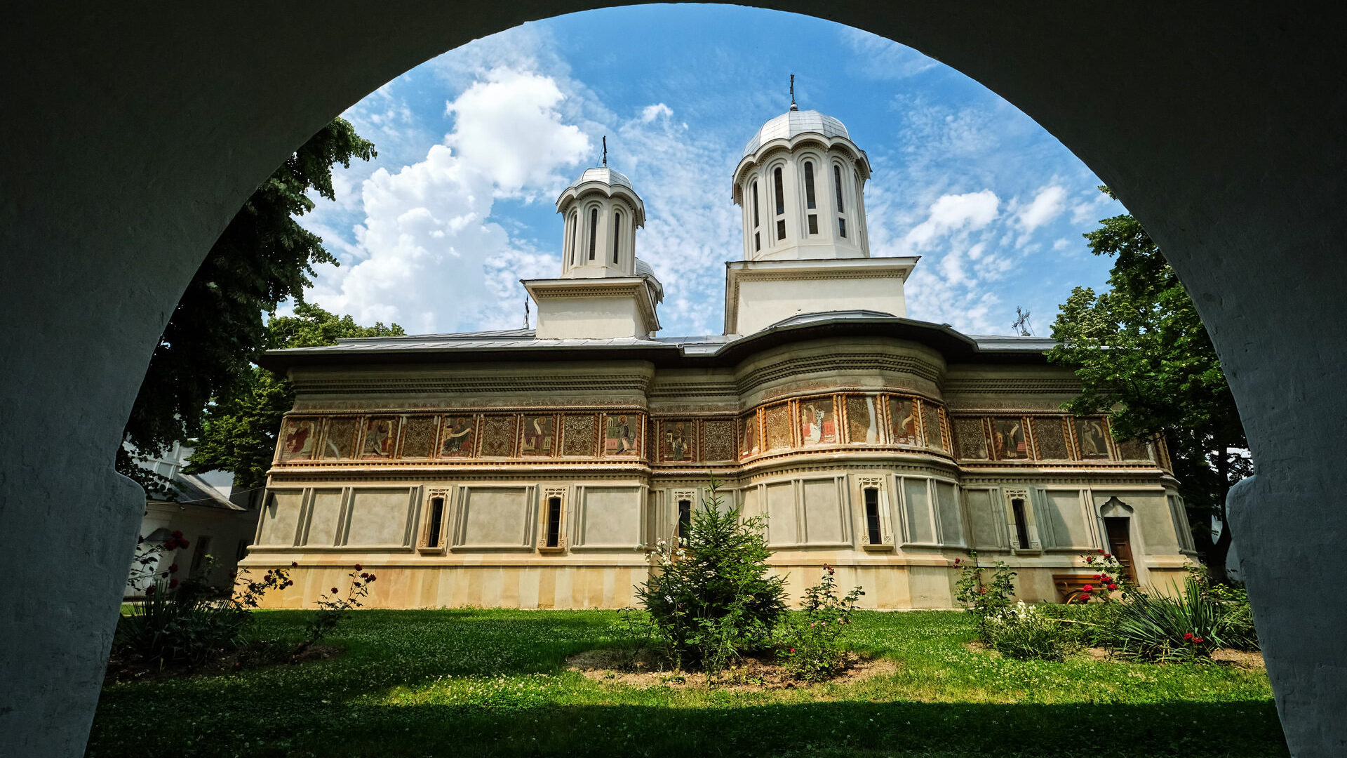 Caldarusani Monastery near Bucharest Romania