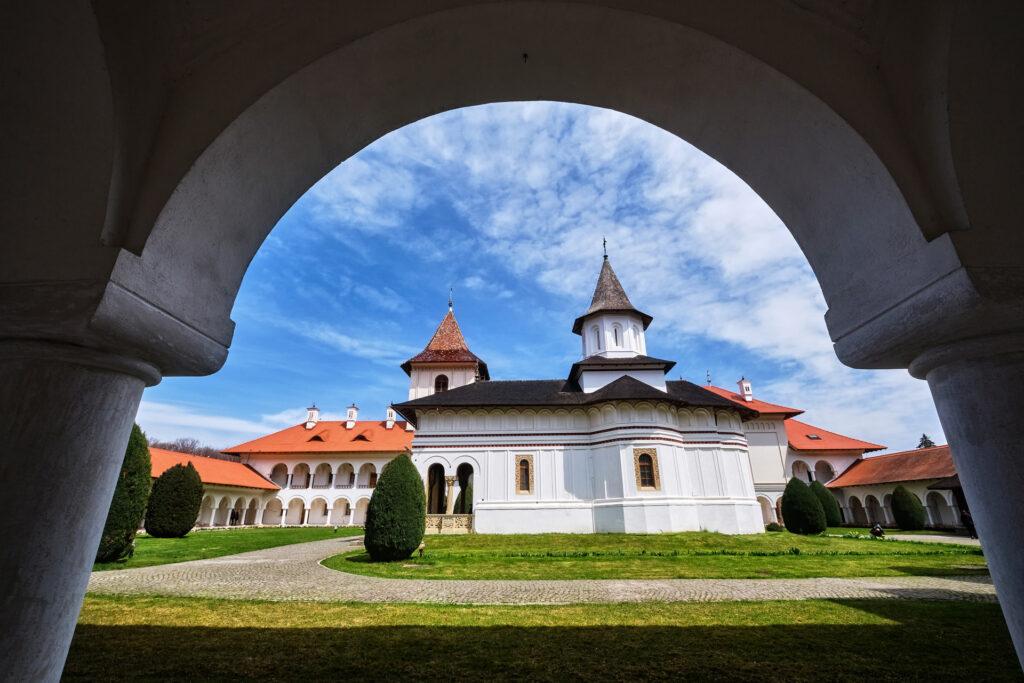 Brancoveanu Monastery of Sambata de Sus Romania